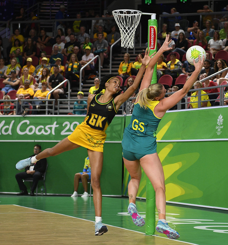 _GRG0118.jpg :: Wales v Scotland in action during Gold Coast 2018 Games at Gold Coast Convention Centre Gold Coast Australia on April 11 2018. Graham / GlennSports.