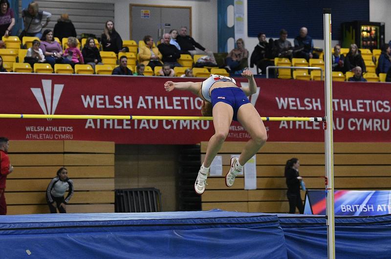 _GRG5283.jpg :: in action during the Welsh Senior Athletics Championships 2019 at N.I.A.C Cardiff United Kingdom on January 26 2019 Graham / GlennSports