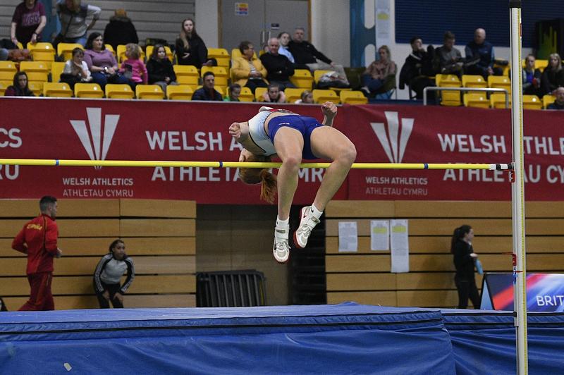 _GRG5284(1).jpg :: in action during the Welsh Senior Athletics Championships 2019 at N.I.A.C Cardiff United Kingdom on January 26 2019 Graham / GlennSports