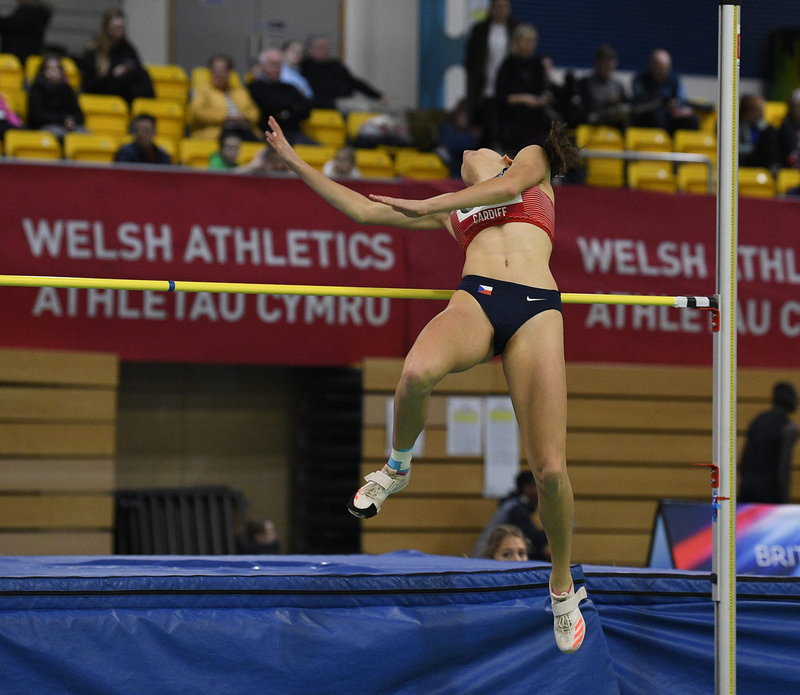 _GRG5300.jpg :: in action during the Welsh Senior Athletics Championships 2019 at N.I.A.C Cardiff United Kingdom on January 26 2019 Graham / GlennSports