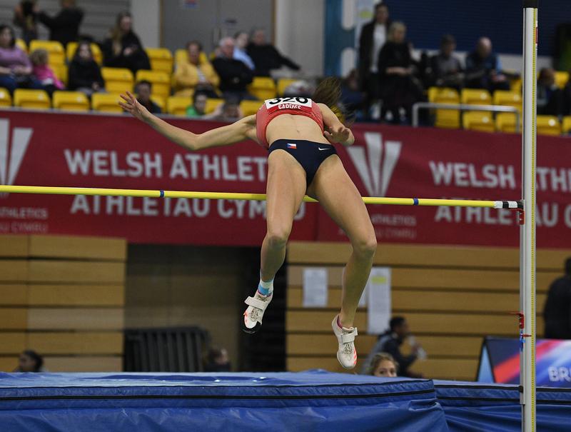 _GRG5301(1).jpg :: in action during the Welsh Senior Athletics Championships 2019 at N.I.A.C Cardiff United Kingdom on January 26 2019 Graham / GlennSports