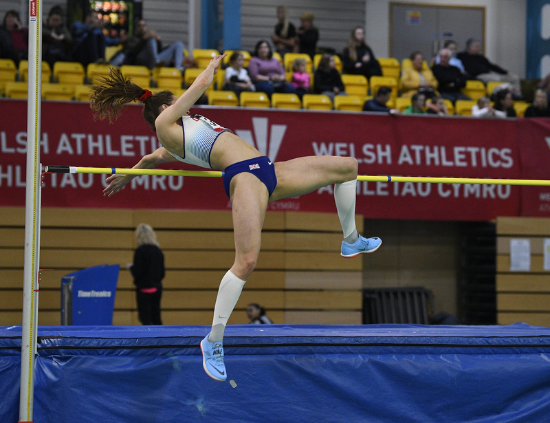 _GRG5307(1).jpg :: in action during the Welsh Senior Athletics Championships 2019 at N.I.A.C Cardiff United Kingdom on January 26 2019 Graham / GlennSports