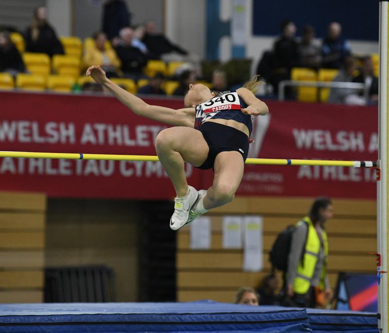 _GRG5314.jpg :: in action during the Welsh Senior Athletics Championships 2019 at N.I.A.C Cardiff United Kingdom on January 26 2019 Graham / GlennSports
