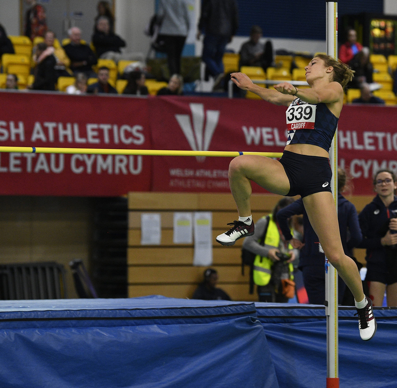 _GRG5318(1).jpg :: in action during the Welsh Senior Athletics Championships 2019 at N.I.A.C Cardiff United Kingdom on January 26 2019 Graham / GlennSports