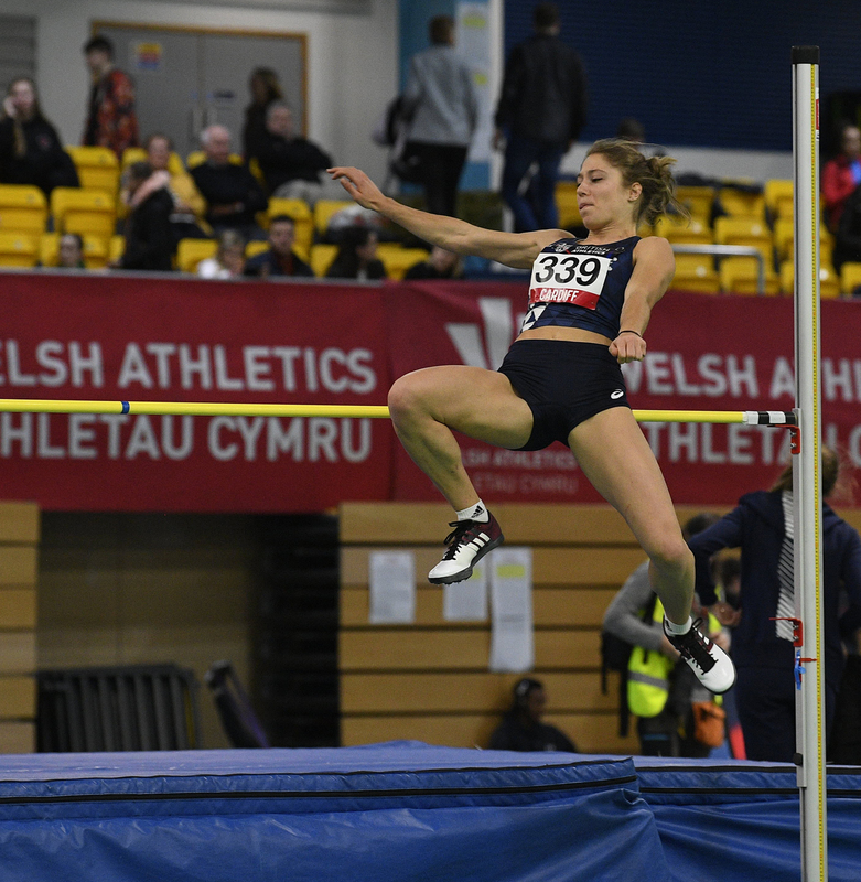 _GRG5319.jpg :: in action during the Welsh Senior Athletics Championships 2019 at N.I.A.C Cardiff United Kingdom on January 26 2019 Graham / GlennSports