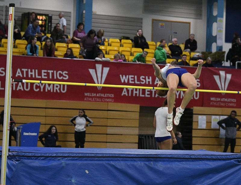 _GRG5323(1).jpg :: in action during the Welsh Senior Athletics Championships 2019 at N.I.A.C Cardiff United Kingdom on January 26 2019 Graham / GlennSports