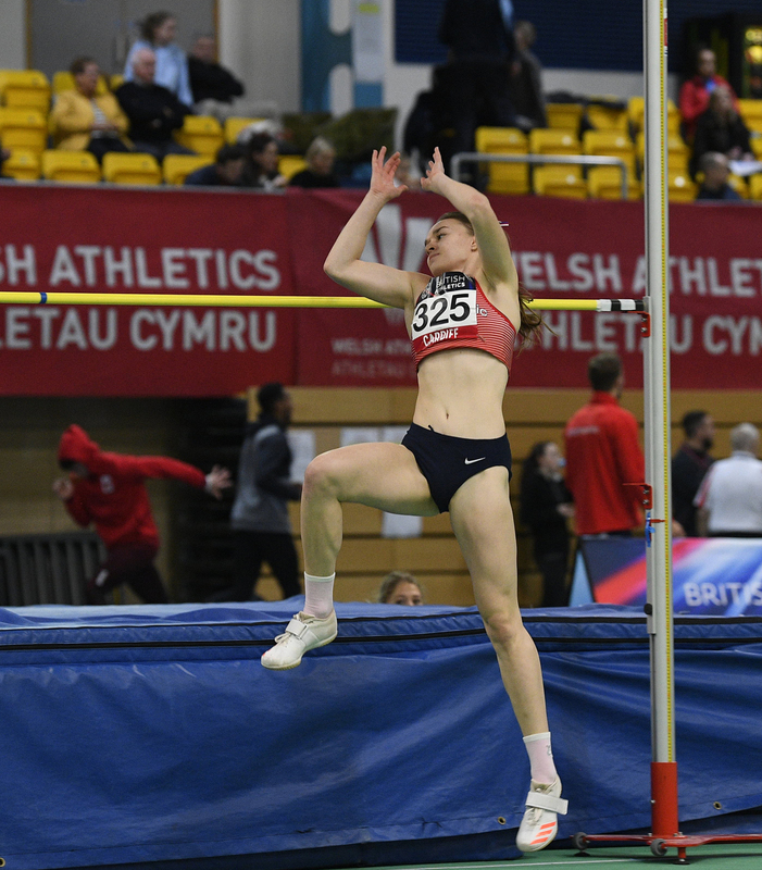 _GRG5333.jpg :: in action during the Welsh Senior Athletics Championships 2019 at N.I.A.C Cardiff United Kingdom on January 26 2019 Graham / GlennSports