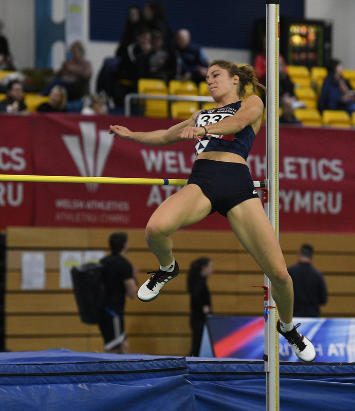 _GRG5344.jpg :: in action during the Welsh Senior Athletics Championships 2019 at N.I.A.C Cardiff United Kingdom on January 26 2019 Graham / GlennSports