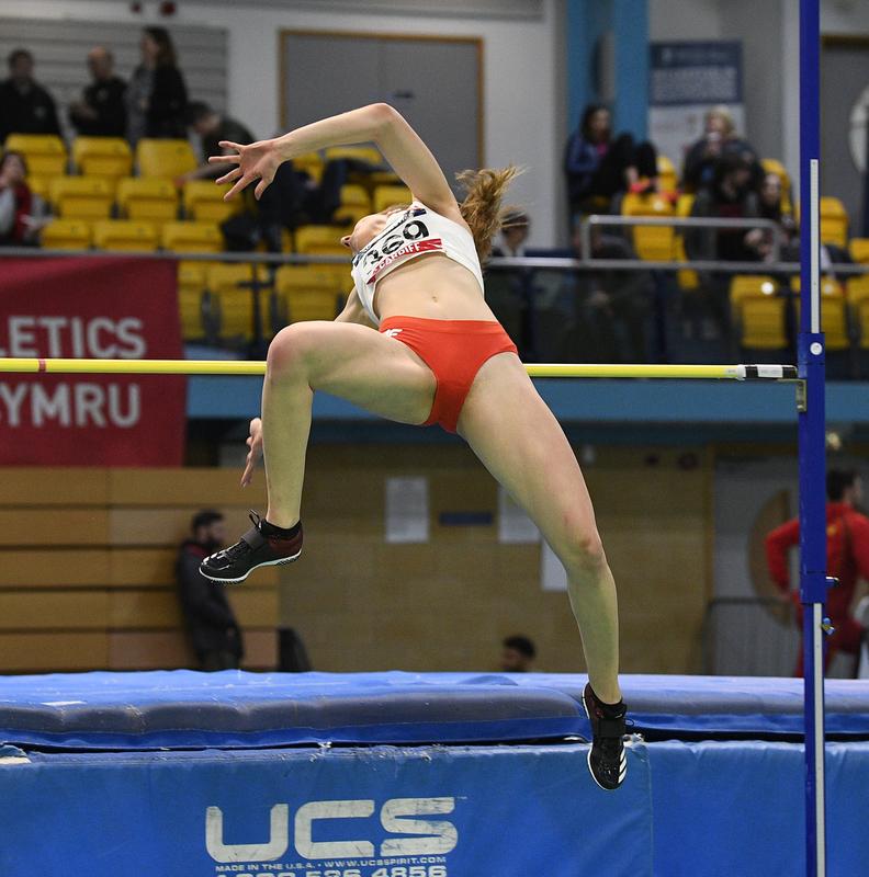 _GRG5360.jpg :: in action during the Welsh Senior Athletics Championships 2019 at N.I.A.C Cardiff United Kingdom on January 26 2019 Graham / GlennSports
