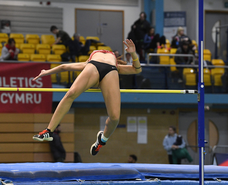 _GRG5366.jpg :: in action during the Welsh Senior Athletics Championships 2019 at N.I.A.C Cardiff United Kingdom on January 26 2019 Graham / GlennSports