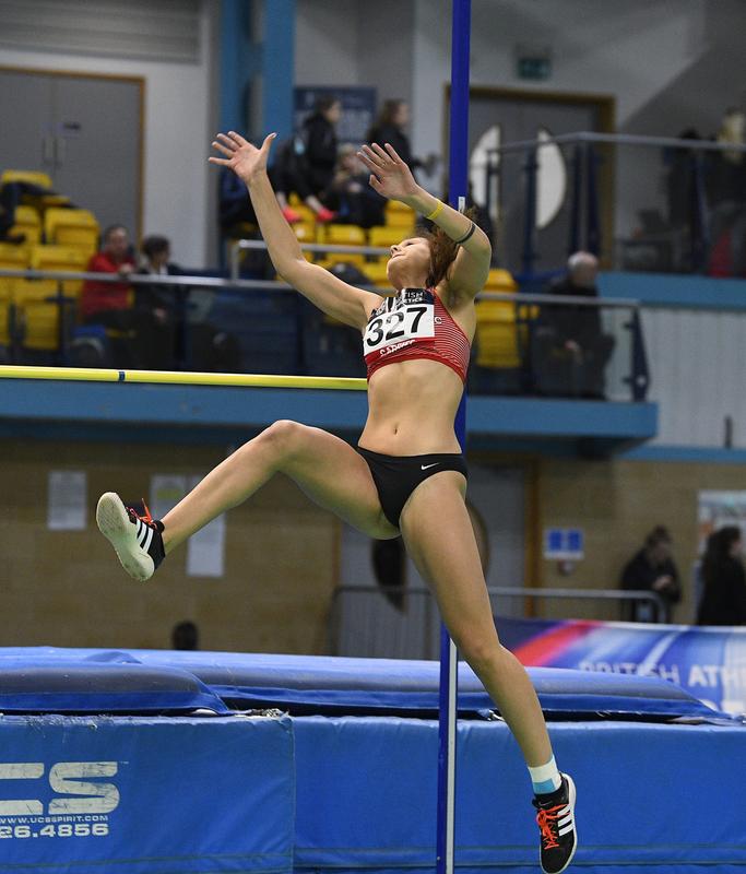 _GRG5373.jpg :: in action during the Welsh Senior Athletics Championships 2019 at N.I.A.C Cardiff United Kingdom on January 26 2019 Graham / GlennSports