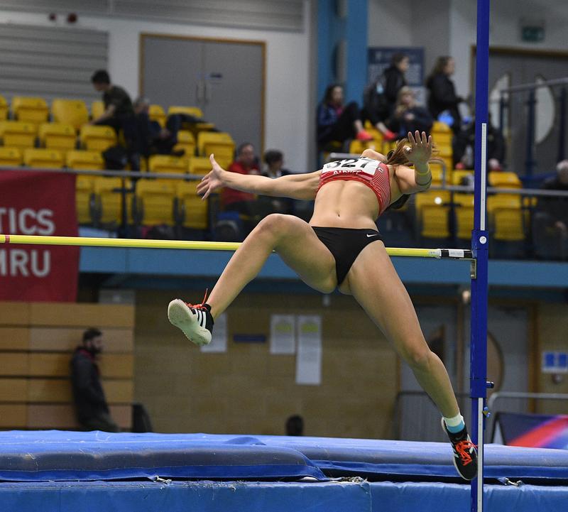 _GRG5374.jpg :: in action during the Welsh Senior Athletics Championships 2019 at N.I.A.C Cardiff United Kingdom on January 26 2019 Graham / GlennSports