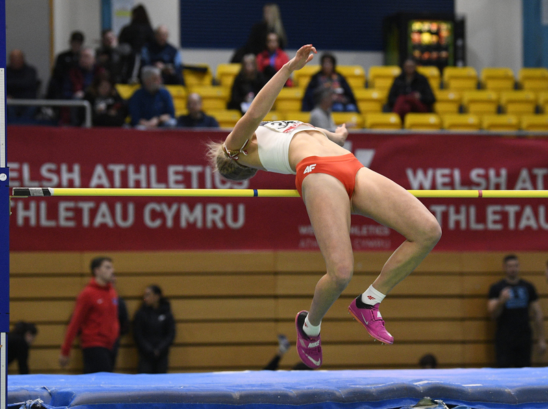 _GRG5380.jpg :: in action during the Welsh Senior Athletics Championships 2019 at N.I.A.C Cardiff United Kingdom on January 26 2019 Graham / GlennSports