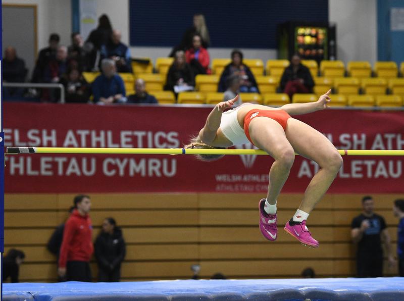 _GRG5381.jpg :: in action during the Welsh Senior Athletics Championships 2019 at N.I.A.C Cardiff United Kingdom on January 26 2019 Graham / GlennSports