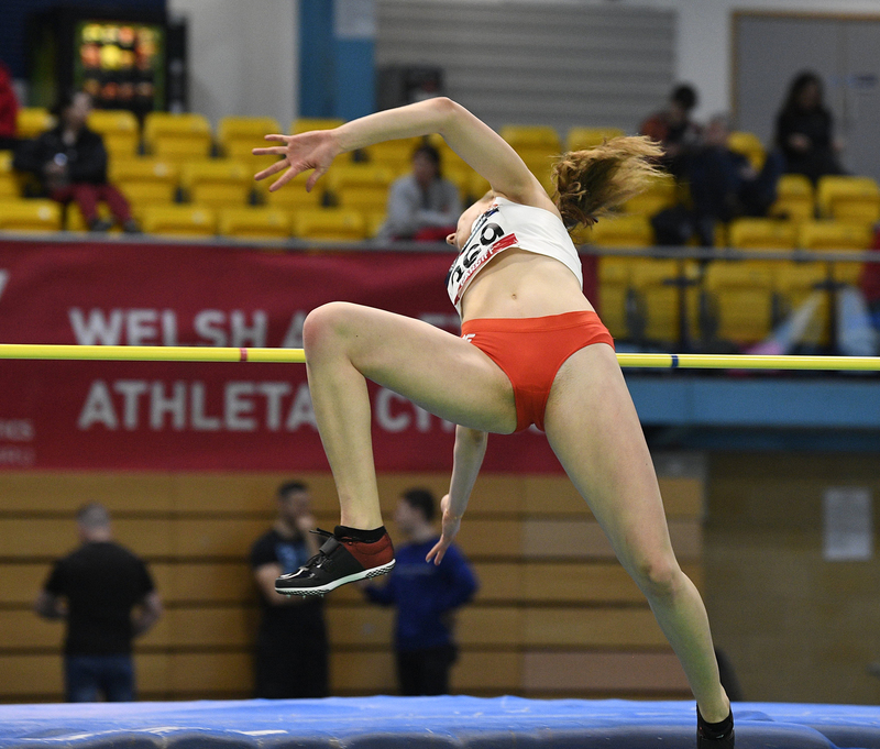 _GRG5396.jpg :: in action during the Welsh Senior Athletics Championships 2019 at N.I.A.C Cardiff United Kingdom on January 26 2019 Graham / GlennSports