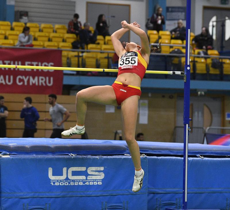 _GRG5398.jpg :: in action during the Welsh Senior Athletics Championships 2019 at N.I.A.C Cardiff United Kingdom on January 26 2019 Graham / GlennSports