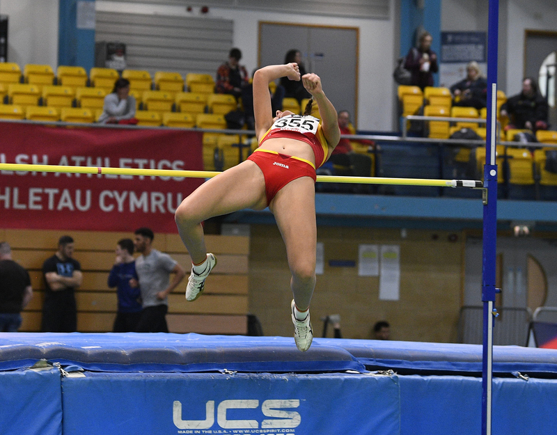 _GRG5399.jpg :: in action during the Welsh Senior Athletics Championships 2019 at N.I.A.C Cardiff United Kingdom on January 26 2019 Graham / GlennSports