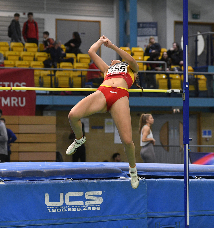 _GRG5413.jpg :: in action during the Welsh Senior Athletics Championships 2019 at N.I.A.C Cardiff United Kingdom on January 26 2019 Graham / GlennSports
