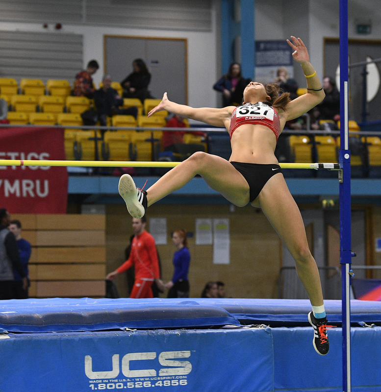 _GRG5415.jpg :: in action during the Welsh Senior Athletics Championships 2019 at N.I.A.C Cardiff United Kingdom on January 26 2019 Graham / GlennSports