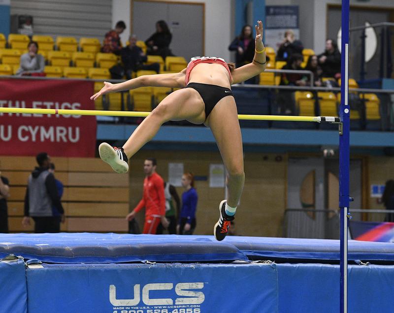 _GRG5416.jpg :: in action during the Welsh Senior Athletics Championships 2019 at N.I.A.C Cardiff United Kingdom on January 26 2019 Graham / GlennSports