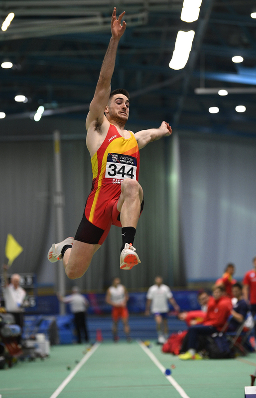 _GRG5458.jpg :: in action during the Welsh Senior Athletics Championships 2019 at N.I.A.C Cardiff United Kingdom on January 26 2019 Graham / GlennSports