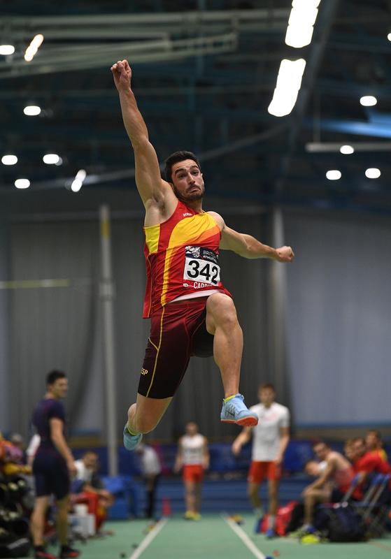 _GRG5476.jpg :: in action during the Welsh Senior Athletics Championships 2019 at N.I.A.C Cardiff United Kingdom on January 26 2019 Graham / GlennSports