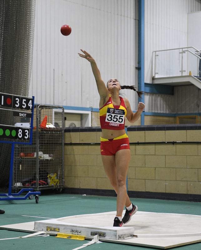 _GRG5493.jpg :: in action during the Welsh Senior Athletics Championships 2019 at N.I.A.C Cardiff United Kingdom on January 26 2019 Graham / GlennSports