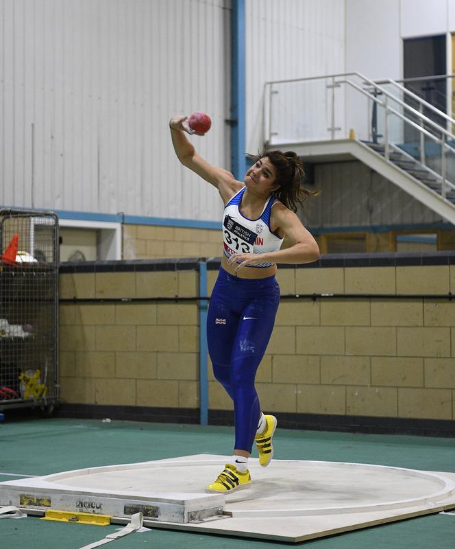 _GRG5508.jpg :: in action during the Welsh Senior Athletics Championships 2019 at N.I.A.C Cardiff United Kingdom on January 26 2019 Graham / GlennSports
