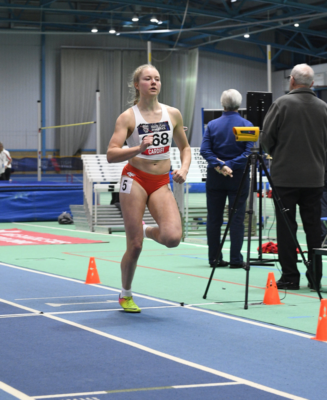 _GRG5543.jpg :: in action during the Welsh Senior Athletics Championships 2019 at N.I.A.C Cardiff United Kingdom on January 26 2019 Graham / GlennSports