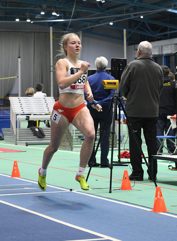 _GRG5544.jpg :: in action during the Welsh Senior Athletics Championships 2019 at N.I.A.C Cardiff United Kingdom on January 26 2019 Graham / GlennSports