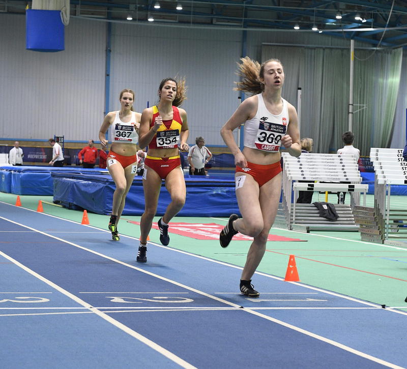 _GRG5546.jpg :: in action during the Welsh Senior Athletics Championships 2019 at N.I.A.C Cardiff United Kingdom on January 26 2019 Graham / GlennSports