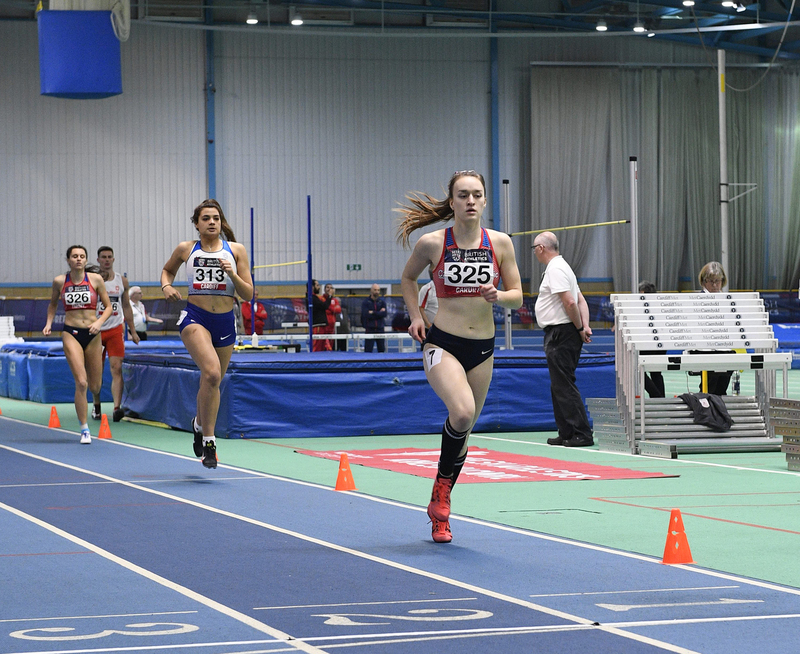_GRG5566.jpg :: in action during the Welsh Senior Athletics Championships 2019 at N.I.A.C Cardiff United Kingdom on January 26 2019 Graham / GlennSports