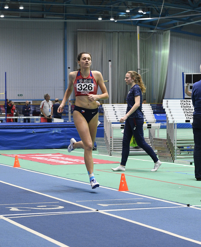 _GRG5568.jpg :: in action during the Welsh Senior Athletics Championships 2019 at N.I.A.C Cardiff United Kingdom on January 26 2019 Graham / GlennSports