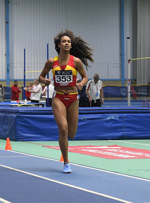 _GRG5572.jpg :: in action during the Welsh Senior Athletics Championships 2019 at N.I.A.C Cardiff United Kingdom on January 26 2019 Graham / GlennSports