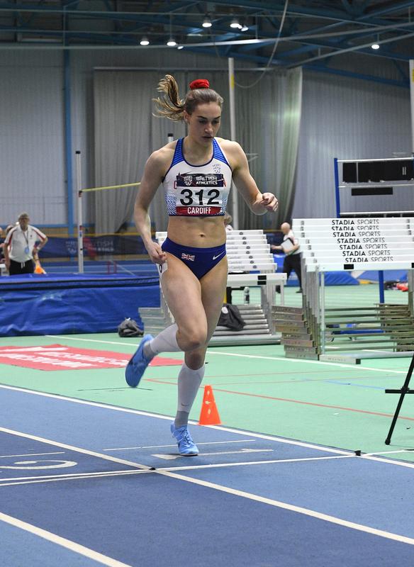 _GRG5576.jpg :: in action during the Welsh Senior Athletics Championships 2019 at N.I.A.C Cardiff United Kingdom on January 26 2019 Graham / GlennSports