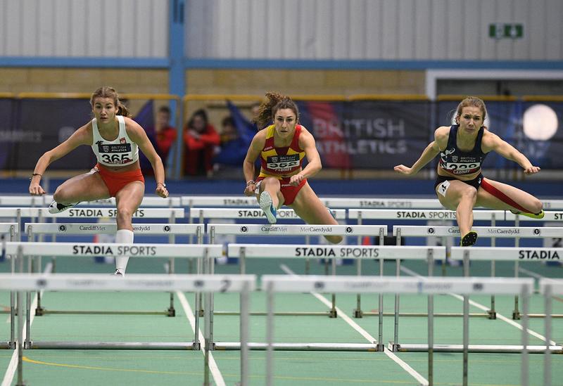 _GRG5596.jpg :: in action during the Welsh Senior Athletics Championships 2019 at N.I.A.C Cardiff United Kingdom on January 27 2019 Graham / GlennSports