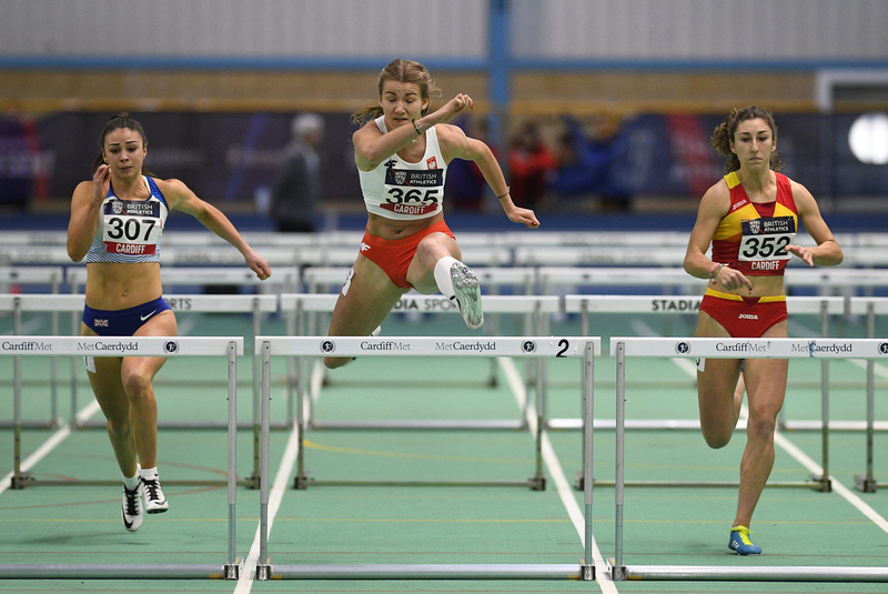 _GRG5608(1).jpg :: in action during the Welsh Senior Athletics Championships 2019 at N.I.A.C Cardiff United Kingdom on January 27 2019 Graham / GlennSports