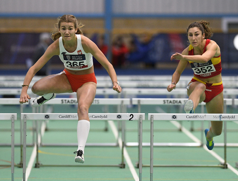 _GRG5610(1).jpg :: in action during the Welsh Senior Athletics Championships 2019 at N.I.A.C Cardiff United Kingdom on January 27 2019 Graham / GlennSports