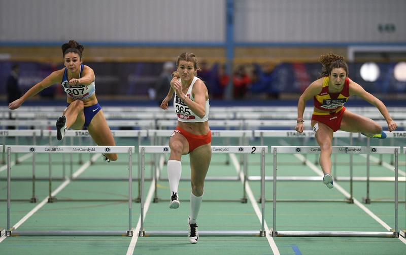 _GRG5612(1).jpg :: in action during the Welsh Senior Athletics Championships 2019 at N.I.A.C Cardiff United Kingdom on January 27 2019 Graham / GlennSports
