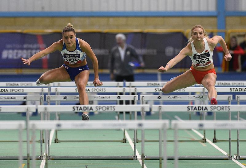 _GRG5627(1).jpg :: in action during the Welsh Senior Athletics Championships 2019 at N.I.A.C Cardiff United Kingdom on January 27 2019 Graham / GlennSports
