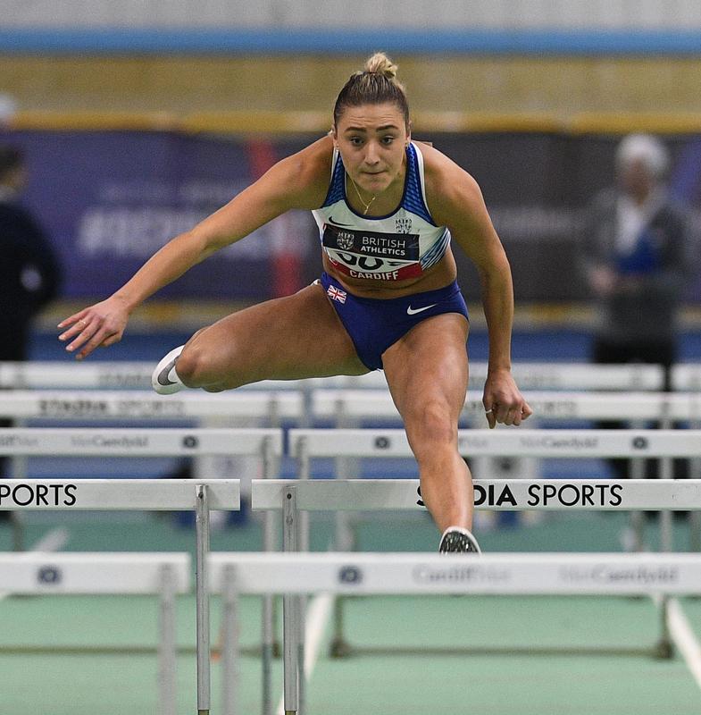 _GRG5636(1).jpg :: in action during the Welsh Senior Athletics Championships 2019 at N.I.A.C Cardiff United Kingdom on January 27 2019 Graham / GlennSports