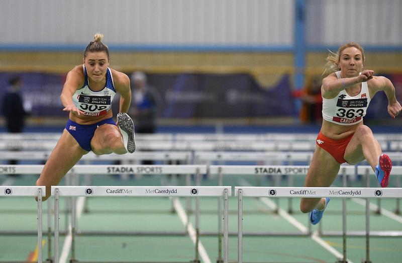 _GRG5647(1).jpg :: in action during the Welsh Senior Athletics Championships 2019 at N.I.A.C Cardiff United Kingdom on January 27 2019 Graham / GlennSports