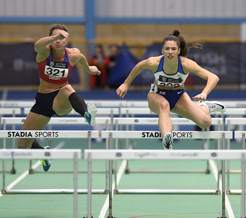 _GRG5667(1).jpg :: in action during the Welsh Senior Athletics Championships 2019 at N.I.A.C Cardiff United Kingdom on January 27 2019 Graham / GlennSports
