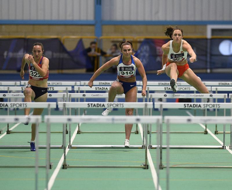 _GRG5691.jpg :: in action during the Welsh Senior Athletics Championships 2019 at N.I.A.C Cardiff United Kingdom on January 27 2019 Graham / GlennSports