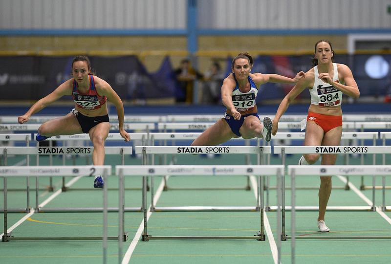 _GRG5694.jpg :: in action during the Welsh Senior Athletics Championships 2019 at N.I.A.C Cardiff United Kingdom on January 27 2019 Graham / GlennSports