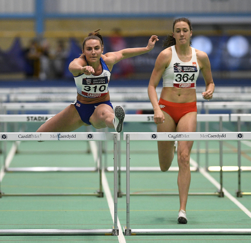 _GRG5701(1).jpg :: in action during the Welsh Senior Athletics Championships 2019 at N.I.A.C Cardiff United Kingdom on January 27 2019 Graham / GlennSports