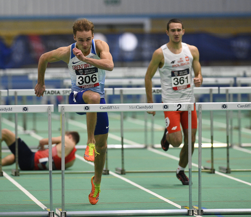 _GRG5714(1).jpg :: in action during the Welsh Senior Athletics Championships 2019 at N.I.A.C Cardiff United Kingdom on January 27 2019 Graham / GlennSports