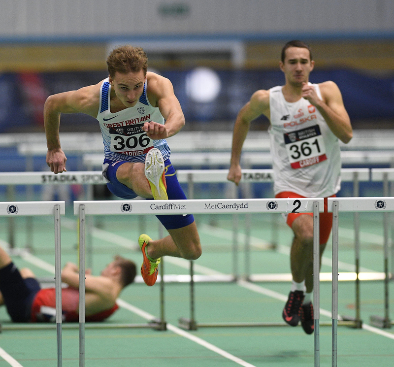 _GRG5715(1).jpg :: in action during the Welsh Senior Athletics Championships 2019 at N.I.A.C Cardiff United Kingdom on January 27 2019 Graham / GlennSports