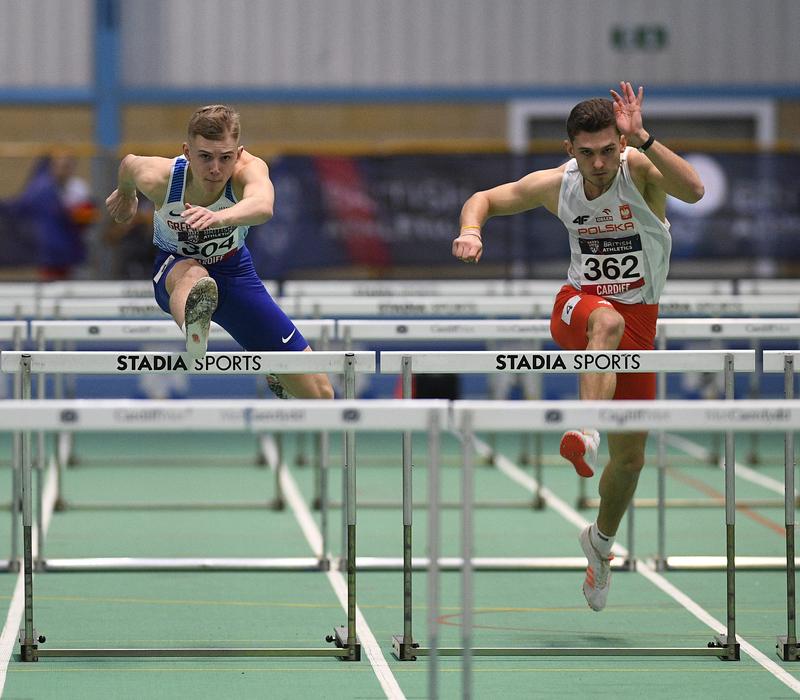 _GRG5733.jpg :: in action during the Welsh Senior Athletics Championships 2019 at N.I.A.C Cardiff United Kingdom on January 27 2019 Graham / GlennSports
