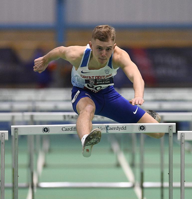 _GRG5746(1).jpg :: in action during the Welsh Senior Athletics Championships 2019 at N.I.A.C Cardiff United Kingdom on January 27 2019 Graham / GlennSports